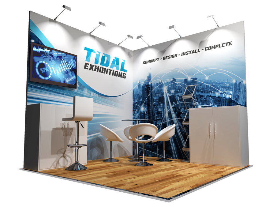 Tidal Exhibitions | Your perfect stand solution in 3 simple steps